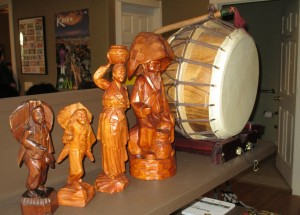 Carvings & Drum